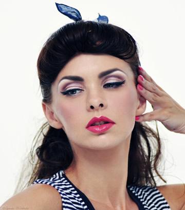 Makijaż mineralny - Mineralna Pin-up Girl