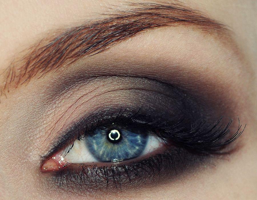 Smoky Eyes - makijaż oczu